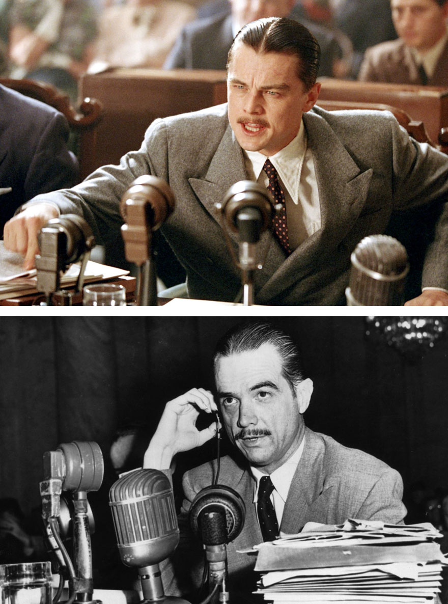 Leonardo Dicaprio As Tycoon Howard Hughes In The Aviator (2004)