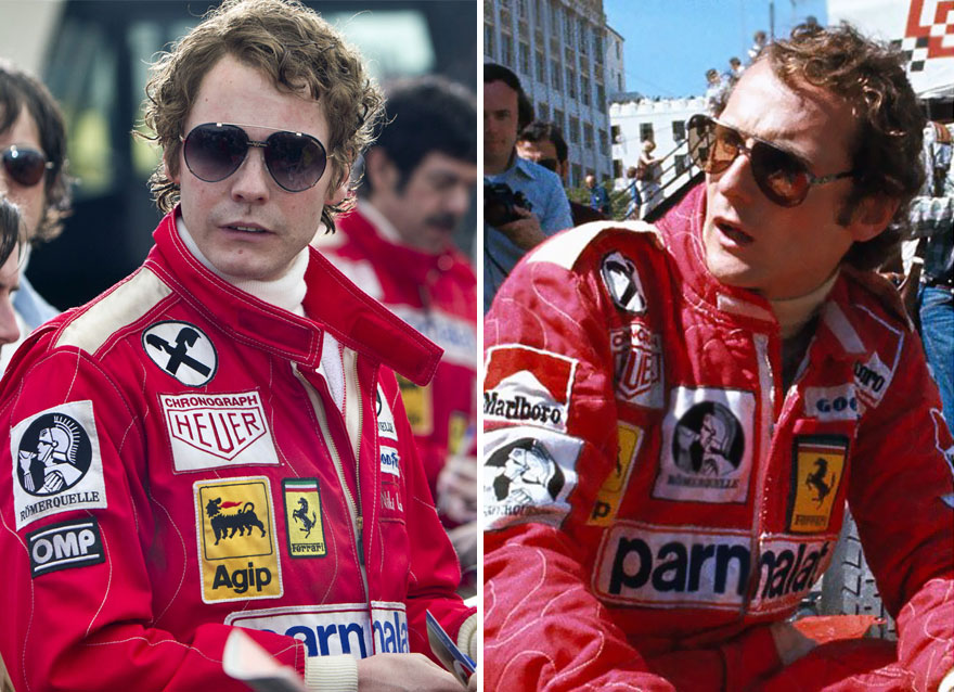 Daniel Brühl As Niki Lauda In Rush (2013)