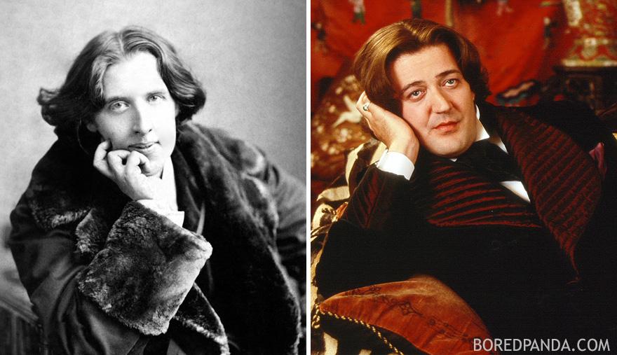 مشاهير يشبهون شخصيات تاريخية بشكل