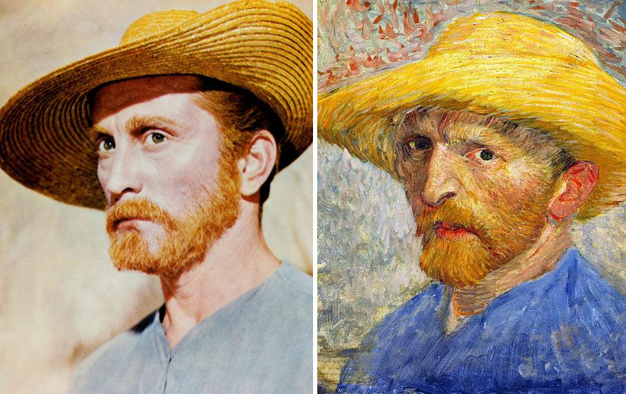 Kirk Douglas As Vincent Van Gogh In Lust For Life (1956