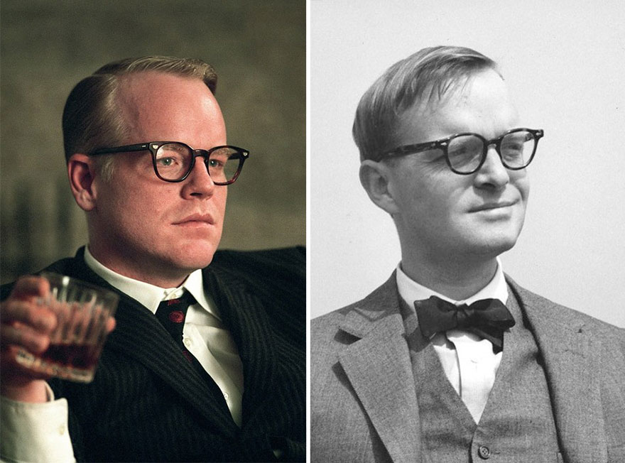 Philip Seymour Hoffman As Truman Capote In Capote (2005)