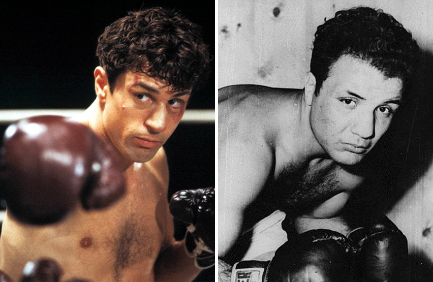 Robert De Niro As Jake Lamotta In Raging Bull (1980)