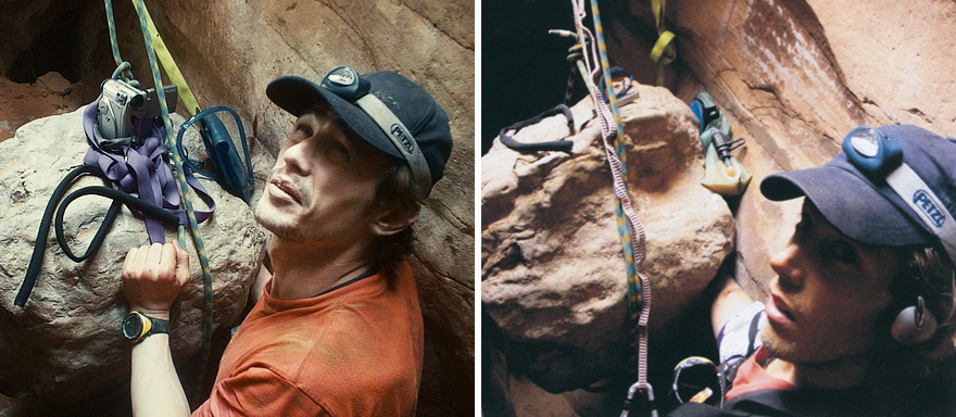 James Franco As Aron Ralston In 127 hours (2010)