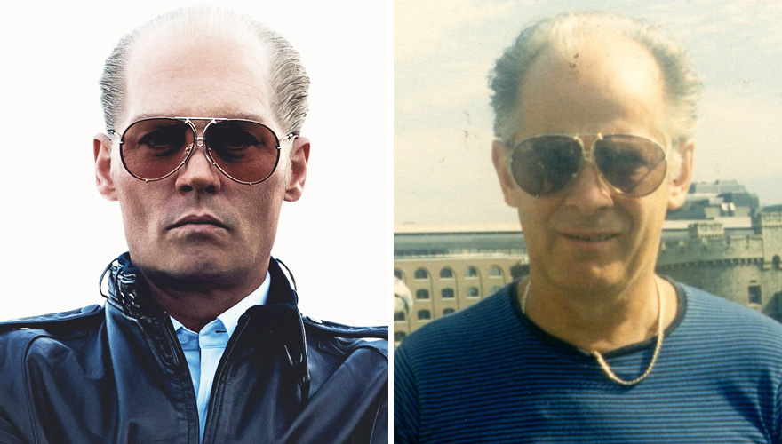 Johnny Depp As James 'Whitey' Bulger In Black Mass (2015)