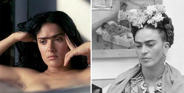 Salma Hayek As Frida Kahlo In Frida (2002)