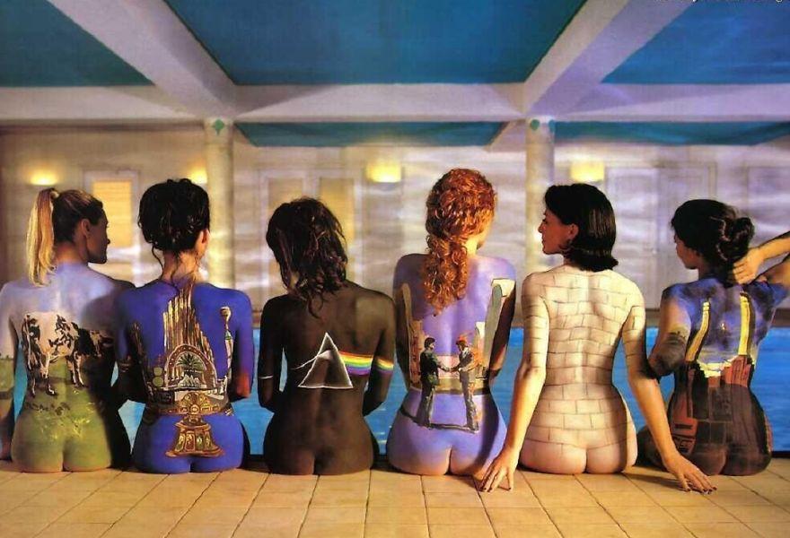 Pink Floyd Body Paint