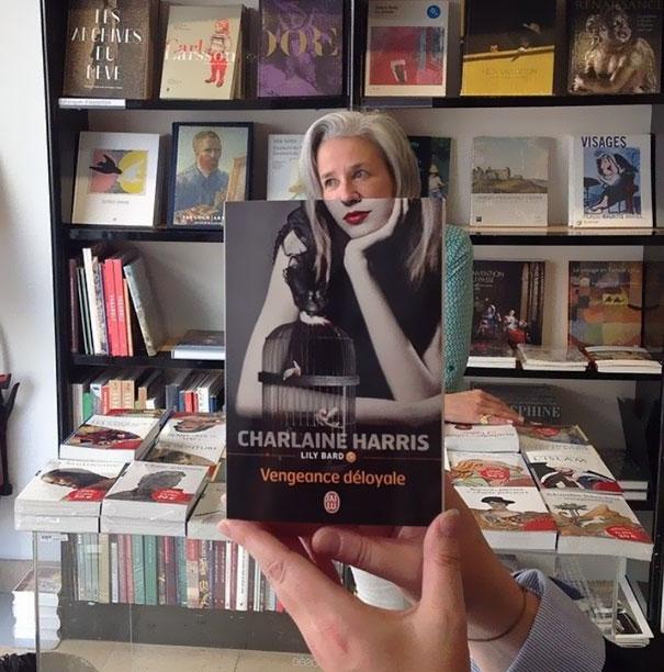 Charlaine Harris Book Face