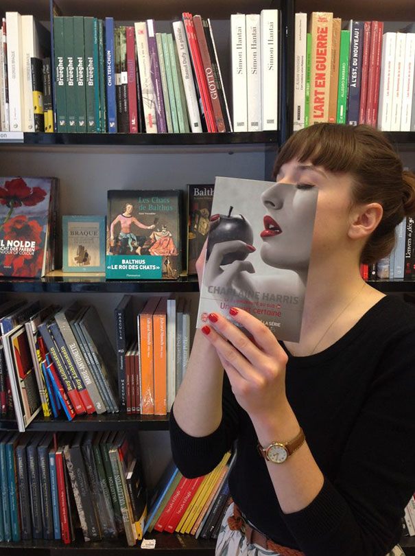 Charlaine Harris Book Face