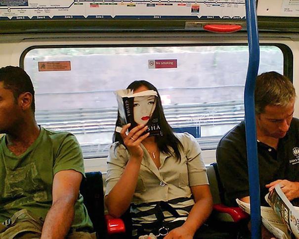Geisha On A Subway