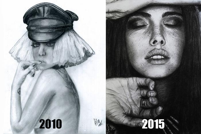 2010: Age 14 - 2015: Age 19