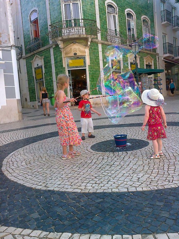 Little Street Artist…