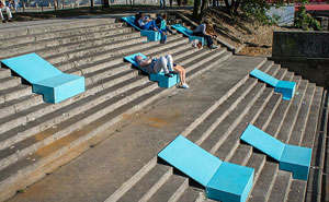 Polish Artists Aim To Restore Neglected Urban Spaces With A Brilliant Solution