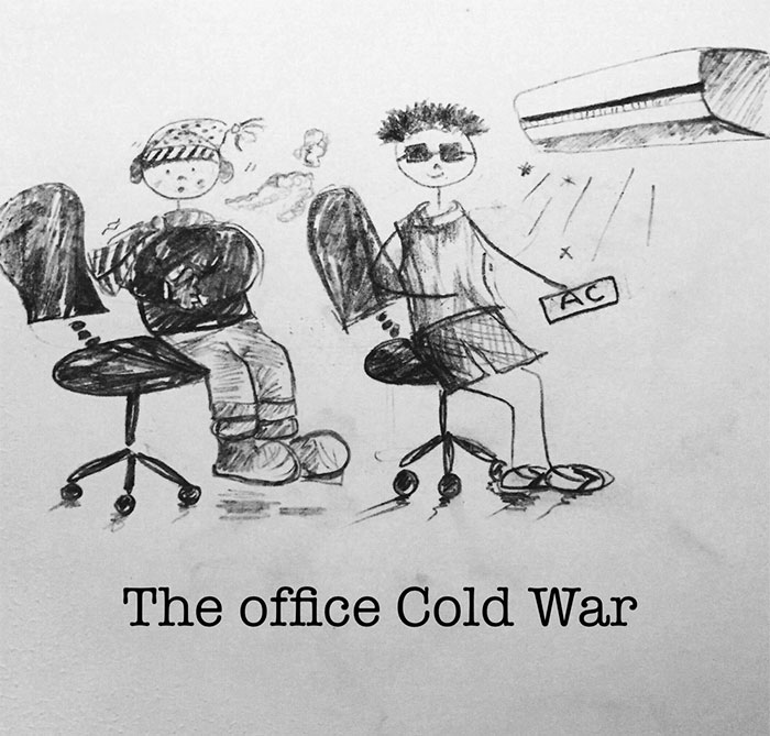 The Ups, Downs, And Weirdness Of Office Life