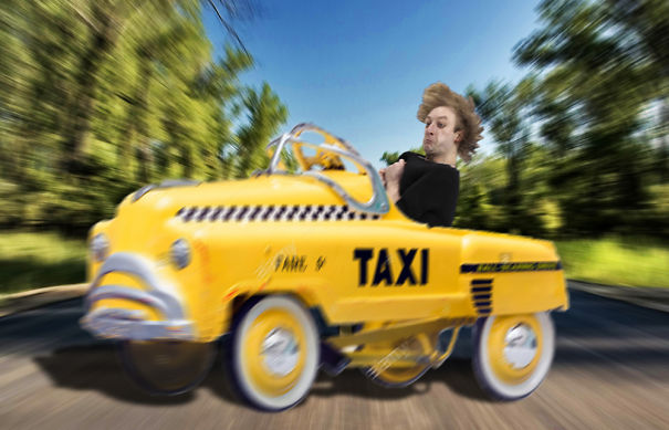 Crazy Taxy Driver