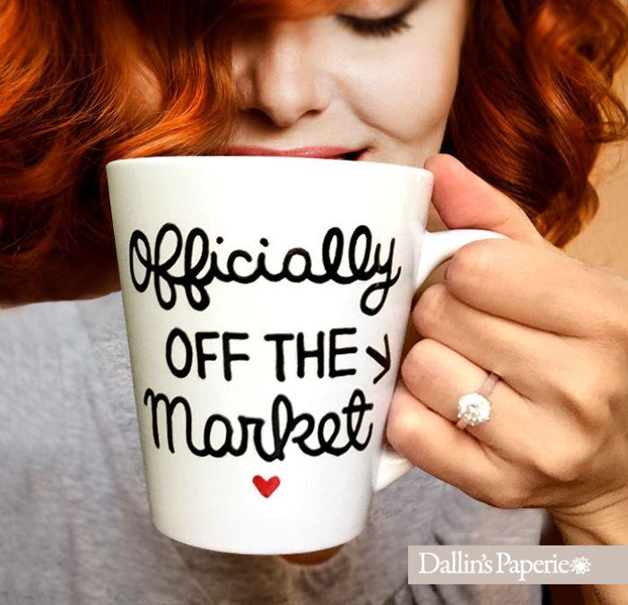 Creative Mug Engagement Announcement