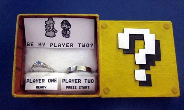 Be My Player Two (Mario Themed Proposal)