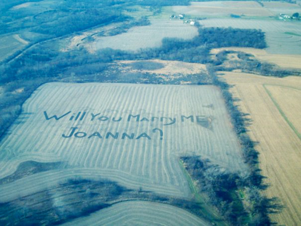 My Cousin Is A Sweet, Hard-Working Farm Boy. He Pulled Off A Rather Impressive Proposal
