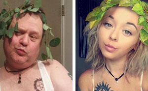 Dad Trolls His Daughter By Recreating Her Selfies