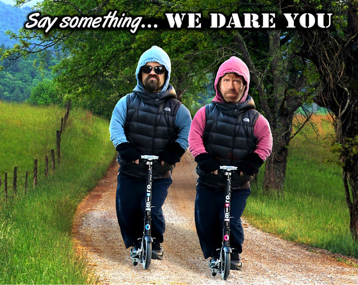 Say Something... We Dare You