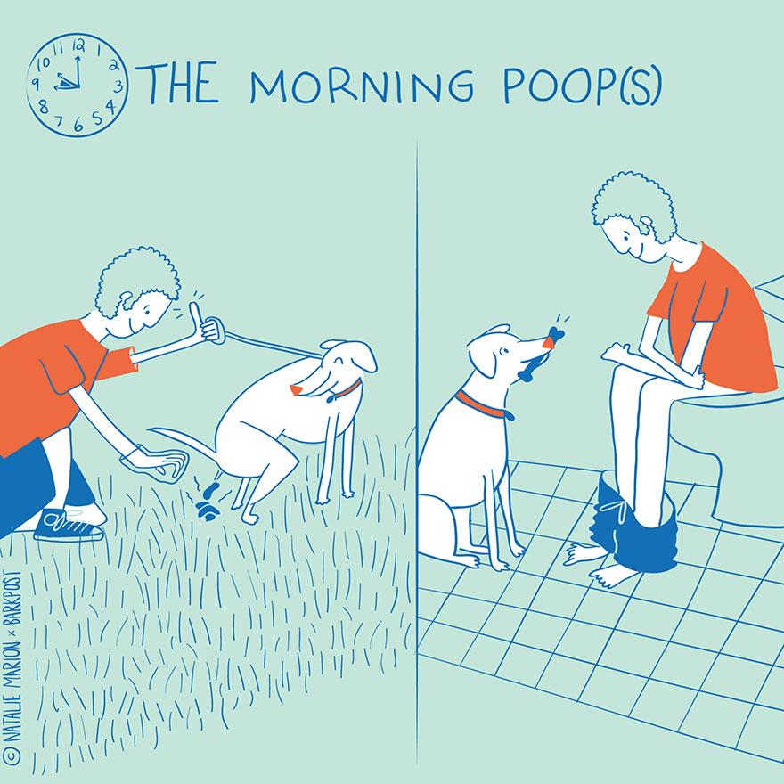 Dog Dad Illustrations