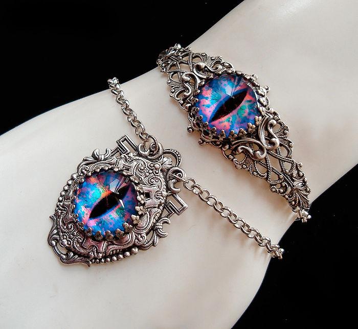 Dragon Eye Jewelry Set
