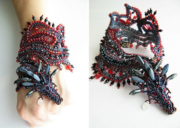 Swarovski Dragon Bracelet