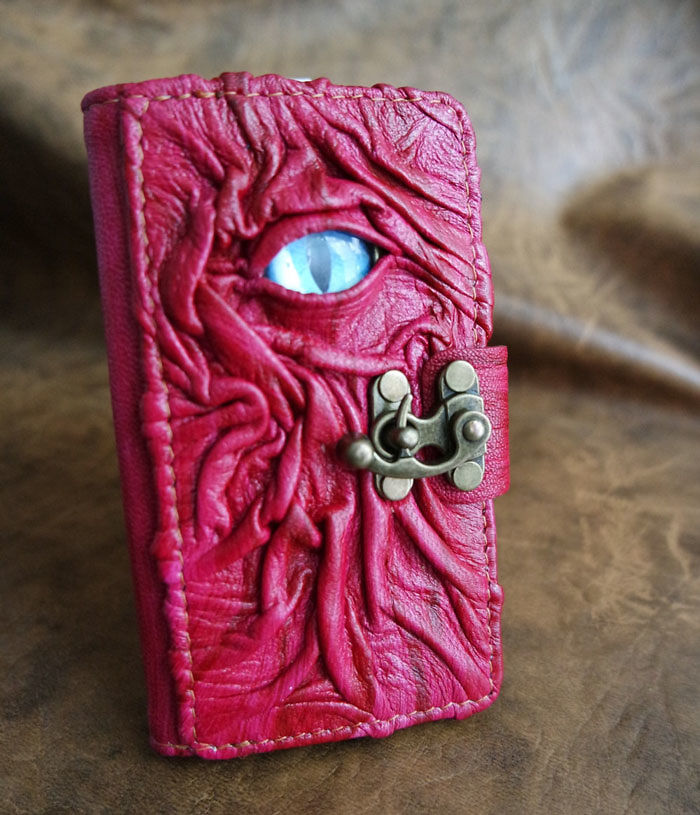 Dragons Eye Leather Phone Case