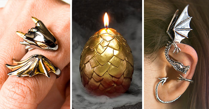 79 Dragon-Inspired Gift Ideas For The Mothers And Fathers Of Dragons