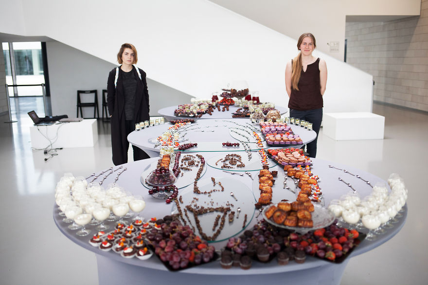 Our Food Art Can Only Be Seen From One Angle (But You Can Eat It From Any Side)