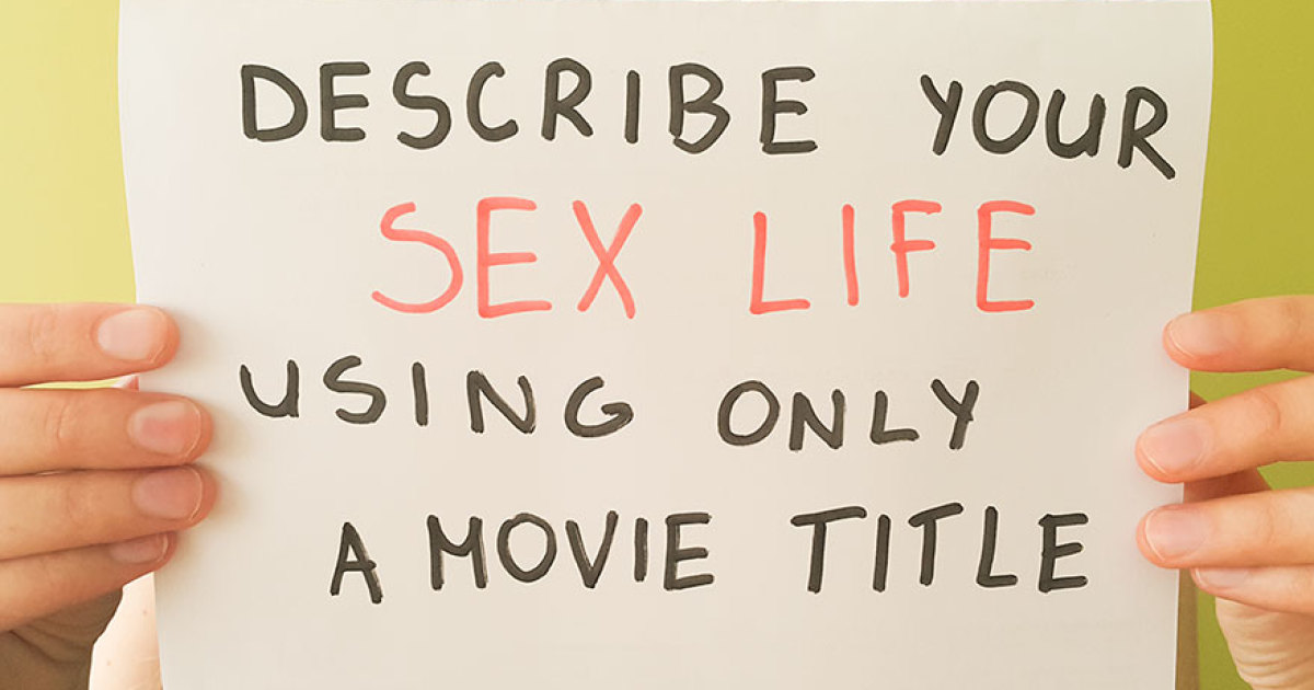 Rate your sex life #11