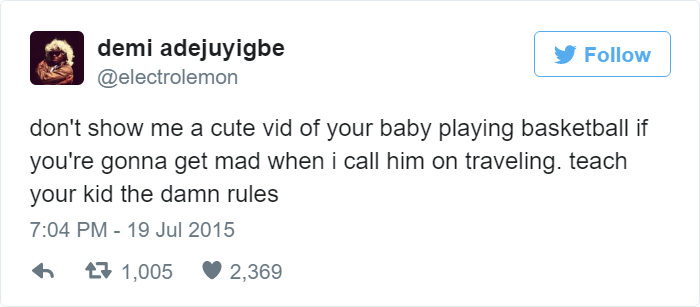 Funny Tweet About Babies