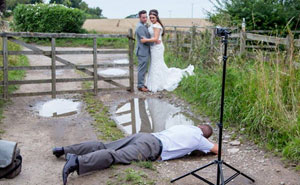 15+ Crazy Wedding Photographers Who Will Do Anything For The Perfect Shot