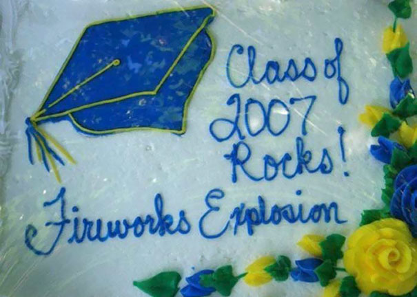 Class Of 2007 Rocks! Fireworks Explosion