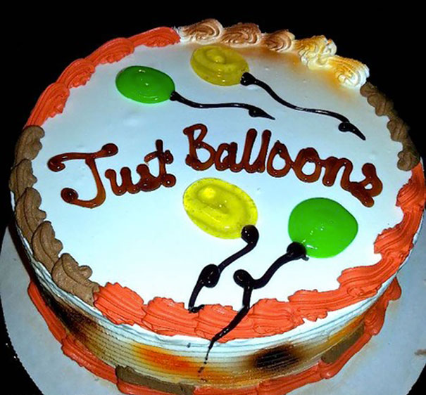 Just Balloons Would Be Fine