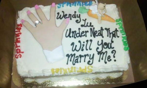 Wendy Lu Under Neat That Will You Marry Me?