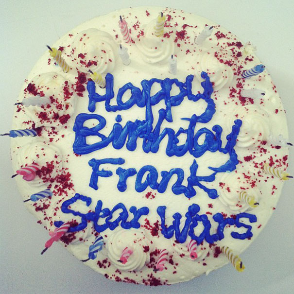 We Asked Safeway To Make A Star Wars Cake For Our Editor Frank. This Is What They Gave Us