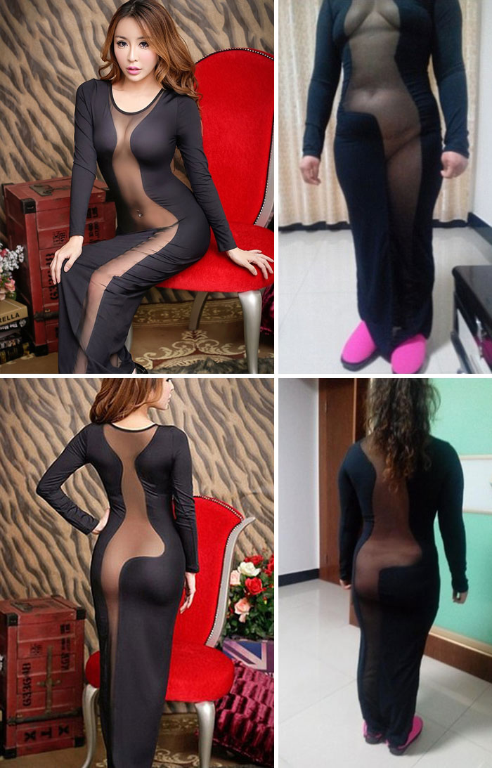 The Cut-Out Dress Revealed A Lot More Than The Customer Expected