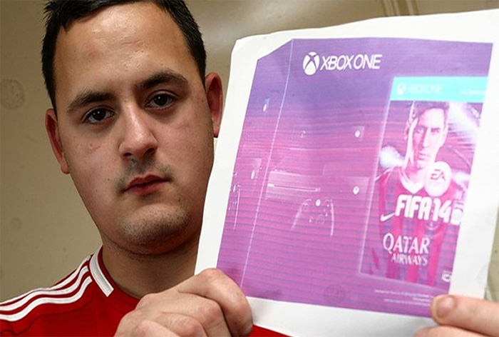 Man Pays $750 For A Piece Of Paper He Thought Was An Xbox One