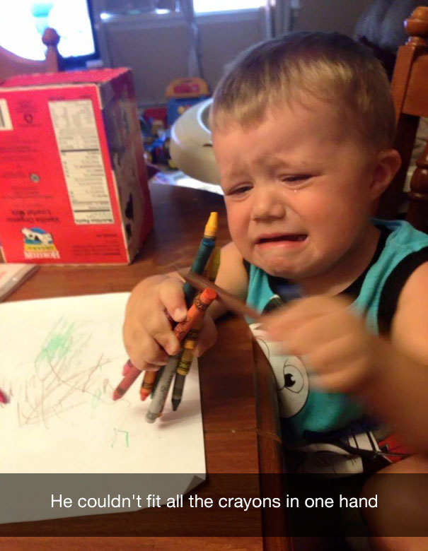 20 ridiculous reasons why kids cry bored panda