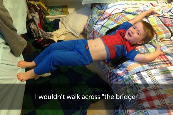 "I wouldn't walk across ""the bridge"""