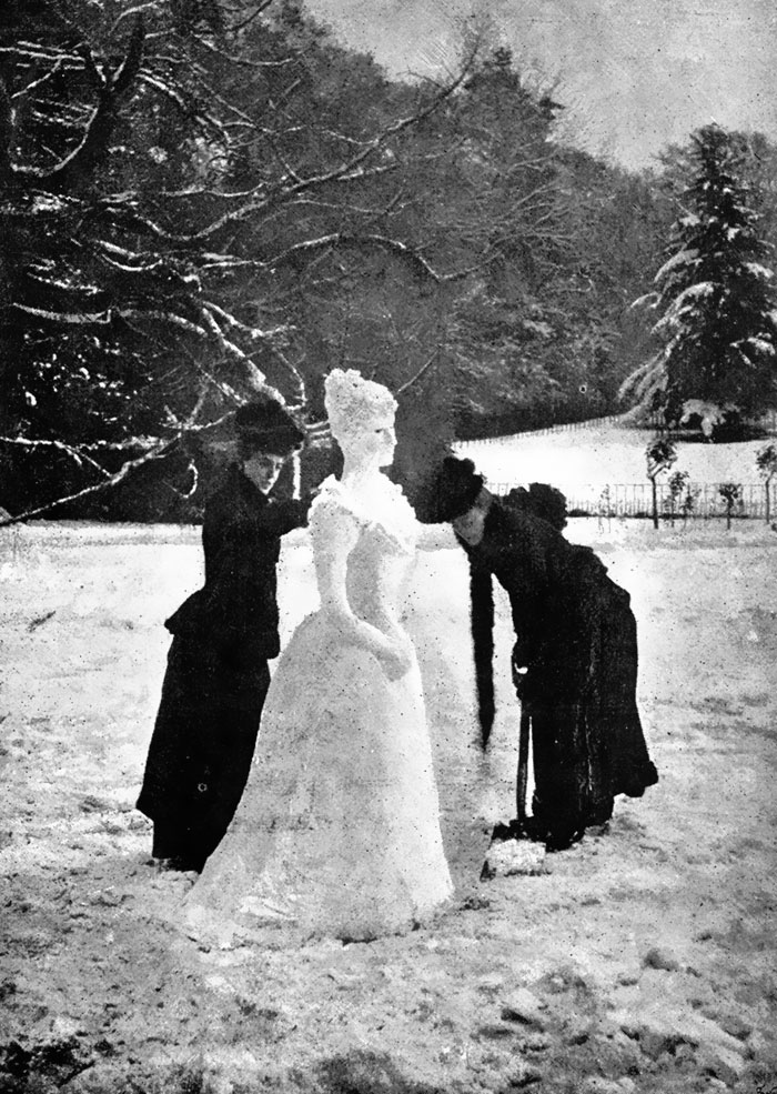 A Snow Lady, 1892