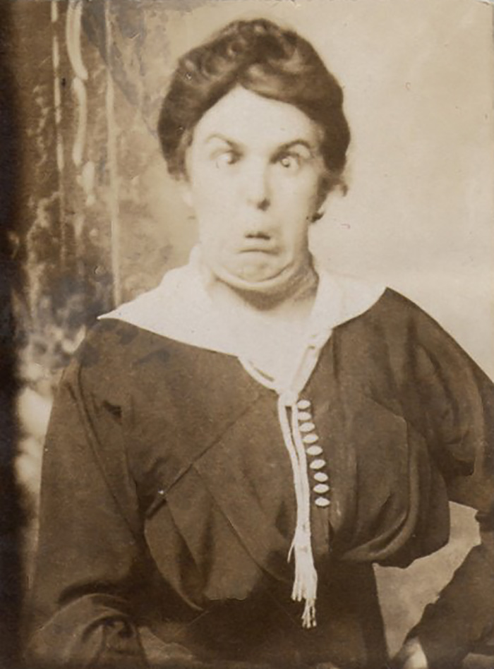 Unusual Portrait Of A Victorian Lady, 1840