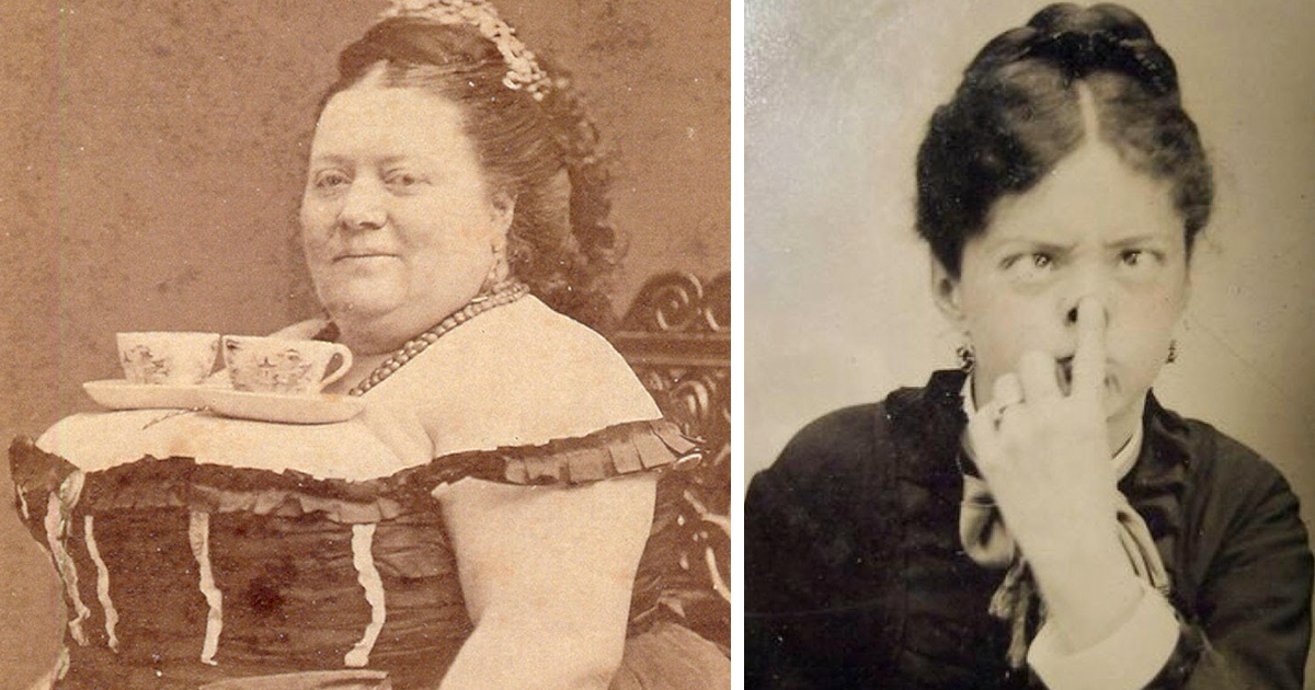 15+ Rare Photos Of Victorians Proving They Weren't As Serious As You Thought