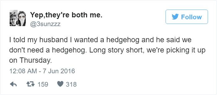 Funny Wife Tweet