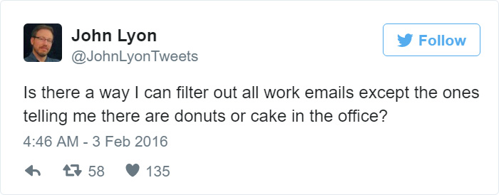 Funny Tweets About Work