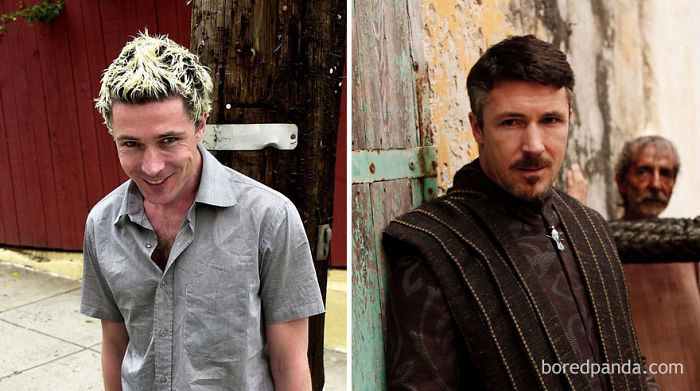 Aidan Gillen As Frank (In 2000's The Low Down) And As Petyr Baelish (In GoT)