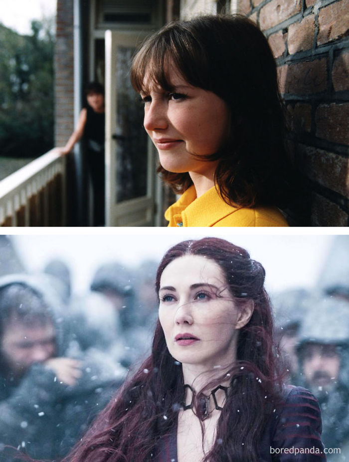 Carice Van Houten As Suzy (In 1999's Suzy Q) And As Melisandre (In GoT)