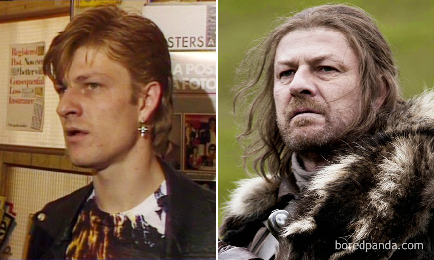 Sean Bean As Horace Clark (In A 1984 Episode Of The Bill) And As Ned Stark (In GoT)