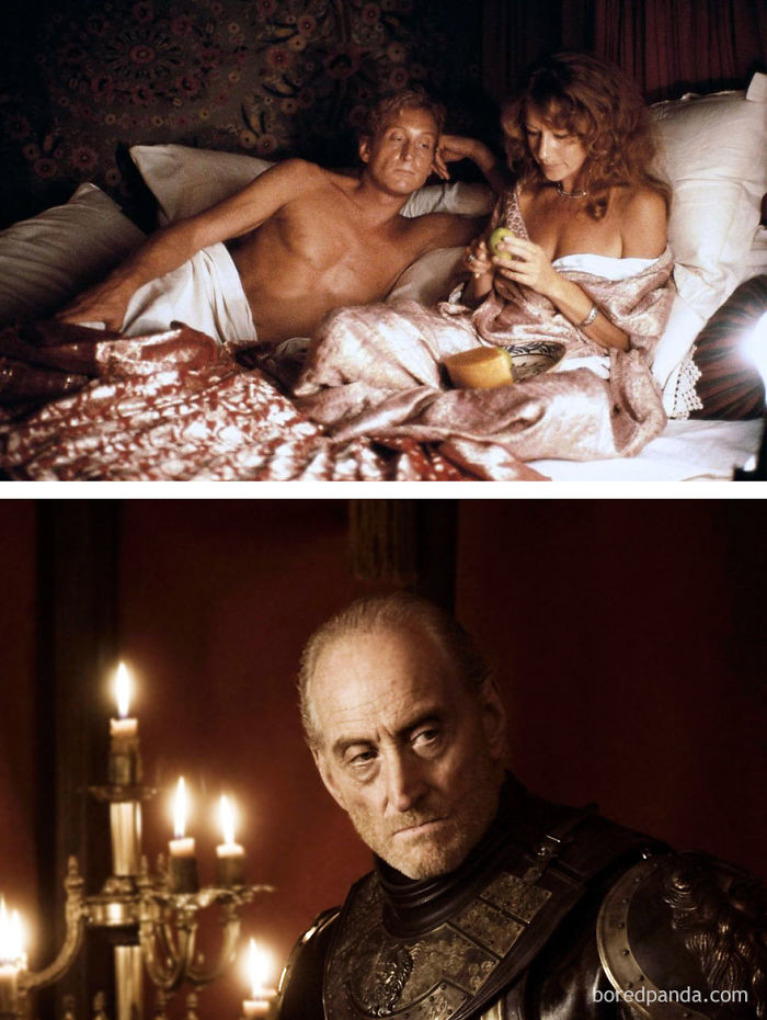 Charles Dance As Anthony Bowles (In 1988's Pascali's Island) And As Tywin Lannister (In GoT)