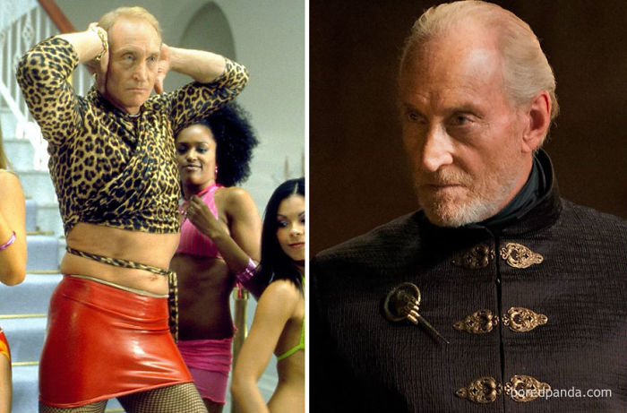 Charles Dance As David Carlton (in 2002's Ali G Indahouse) And As Tywin Lannister (in Game Of Thrones)